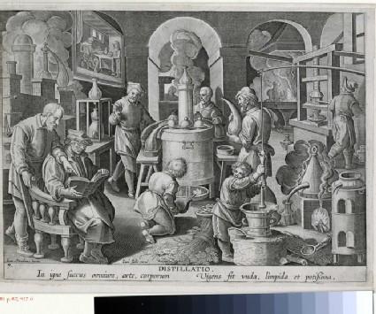 The invention of distillation