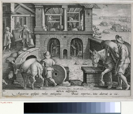 The invention of the watermill