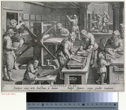The invention of copper engraving