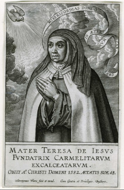 Portrait of Teresa of Avila