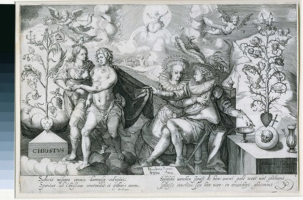 Allegory on the Good and the Corrupt tree