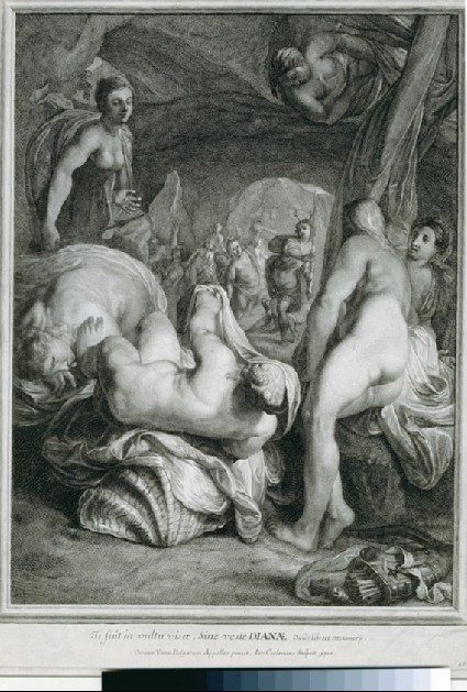Actaeon and Diana