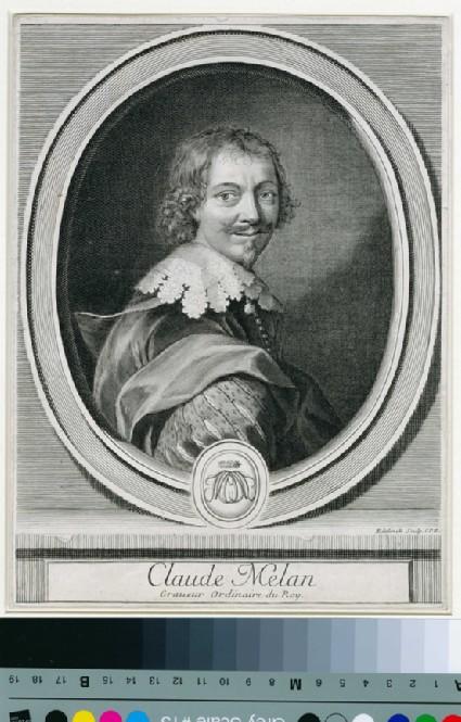 Portrait of Claude Mellan