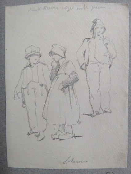 Two children and a man