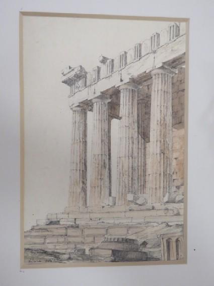 View of the Parthenon in the Acropolis, Athens