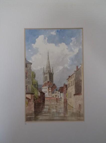 View of Leuven, Belgium