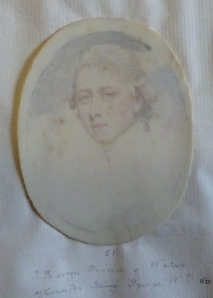 Portrait of a Man (possibly George, Prince of Wales)