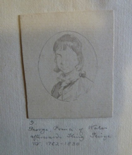 Study for the Portrait of George, Prince of Wales, afterwards George IV