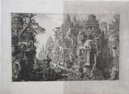 Frontispiece to volume II of Piranesi's 'Le Antichità Romane'