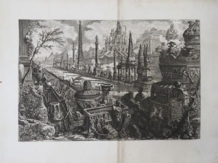 Frontespiece to volume III of Piranesi's 'Le Antichità Romane'