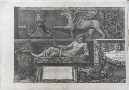 Vasi, candelabri, cippi, sarcofagi, tripodi, lucerne ed ornamenti antichi, volume I