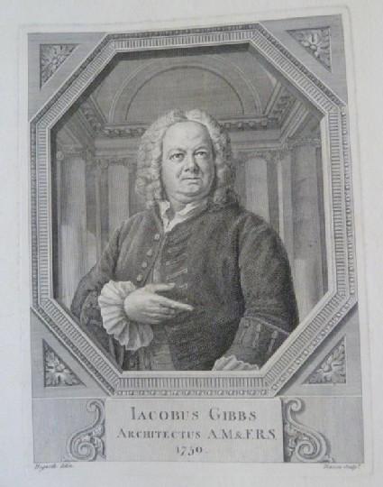 Portrait of James Gibbs