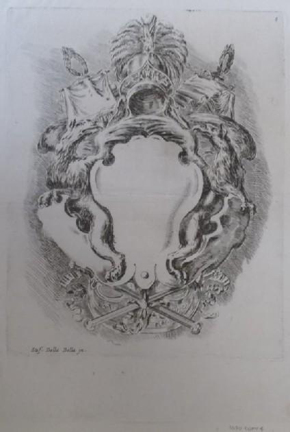 Plate 4: Raccolta di varii cappricii