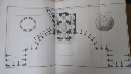Plan for the church in the Collège des Quatre-Nations