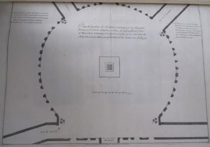 Plan of Place des Victoires