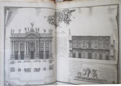 Plan for the new facade of the basilica of St John Lateran