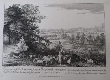 The Little Shepherd, 'Puer Parvulus minabit eos'