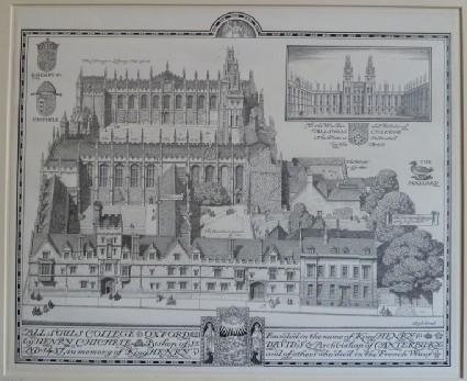 All Soul's College, Oxford