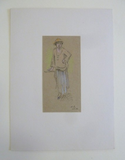 Woman with Hand on Hip