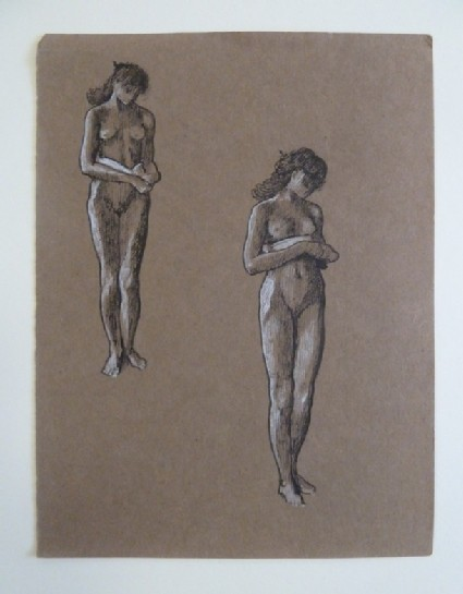 Two female Nudes