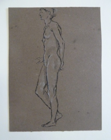 Nude Woman standing up