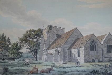 Brightling Church, Rosehill, Sussex