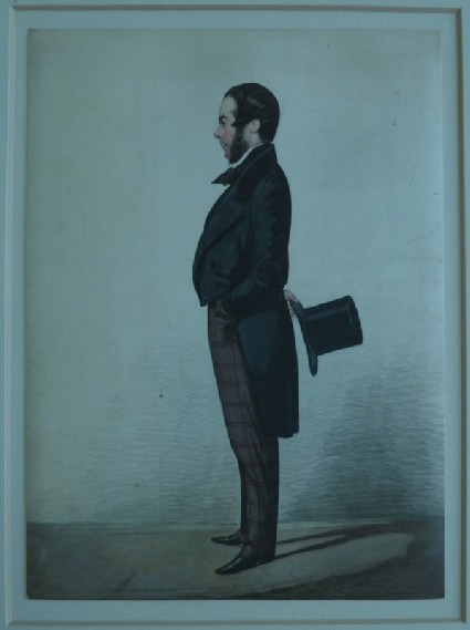 Portrait of an unidentified standing man