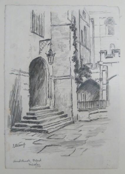 Doorway in Christ Church, Oxford