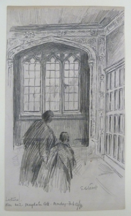 Lecture Room No. 2, Magdalen College, Oxford