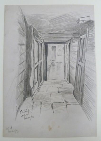 Passageway in a College, Oxford