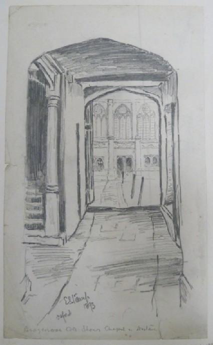 Passageway in Brasenose College, Oxford