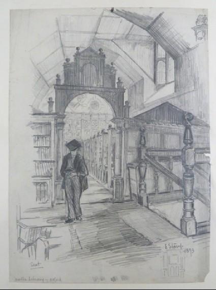 Merton Library, Oxford