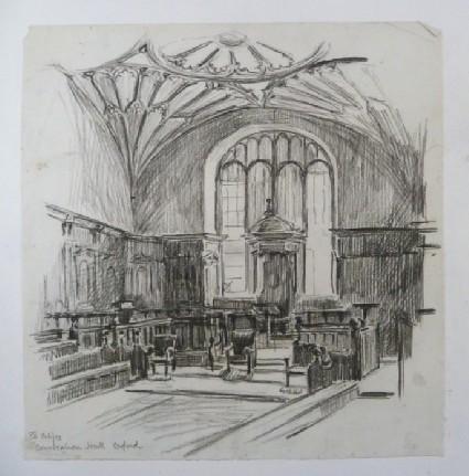 Convocation Hall, Oxford