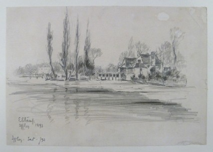 View of Iffley, by the River's Edge