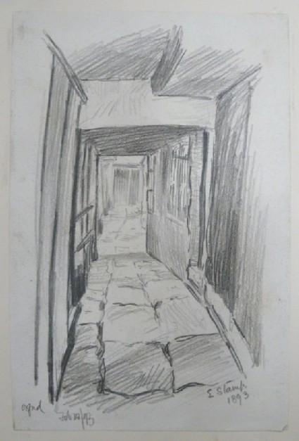 Passageway in an Oxford College