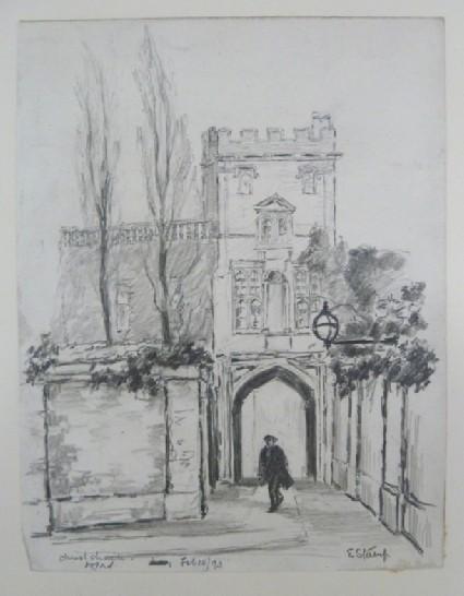 Gateway to Christ Church, Oxford