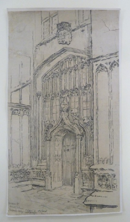 Entrance to the Divinity School, Oxford
