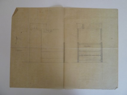 Plans for a bed with hangings