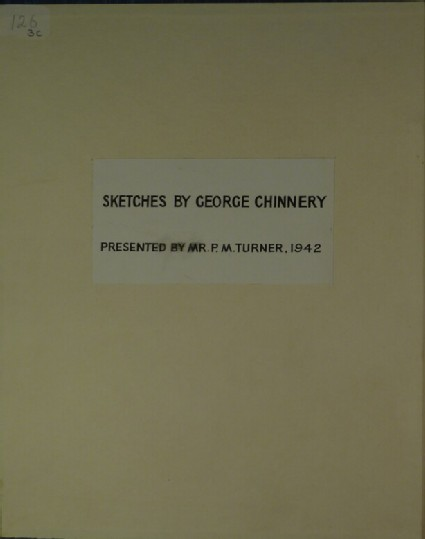 Album of drawings by George Chinnery