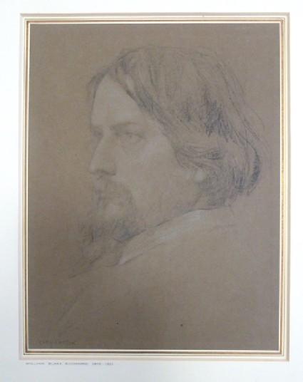 Portrait of William Blake Richmond