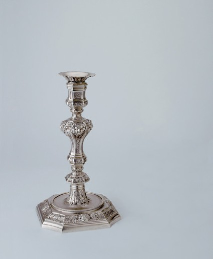 Candlestick, one of a set of six