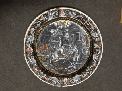 Plate: Labours of December