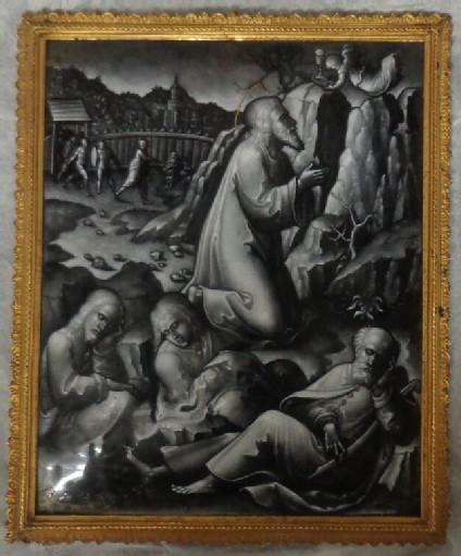 Rectangular plaque: The Agony in the Garden