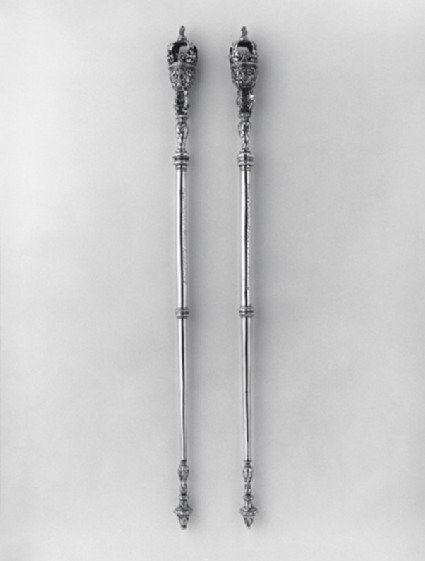 Civic mace, one of a pair