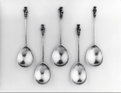 Apostle spoon, one of five