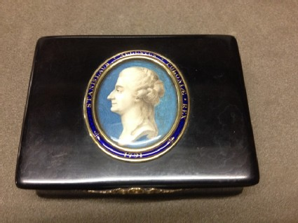 Snuff-box with miniature of Stanislaus Augustus, King of Poland 1763-1795