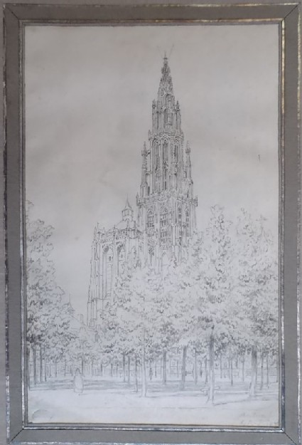 View of Antwerp Cathedral