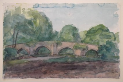 Dipping Bridge, near Bridgend, Glamorgan