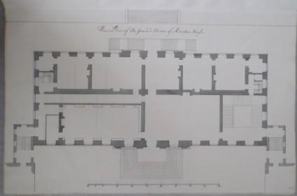Plan of the Ground floor of Kiveton House