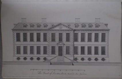 The front of Kiveton House towards the Garden